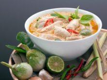 Gluten-Free Red Chicken Curry Dish