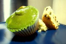 Gluten-Free Chocolate Chip Avocado Cupcakes (Vegan)
