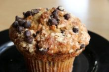 Small Batch Gluten-Free Banana Chocolate Chip Muffins- Recipe