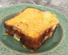 Gluten-Free, Sugar-Free Banana Stuffed French Toast