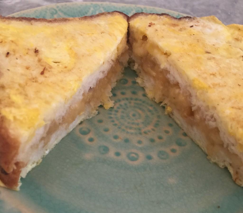 Gluten-Free, Sugar-Free Banana Stuffed French Toast end