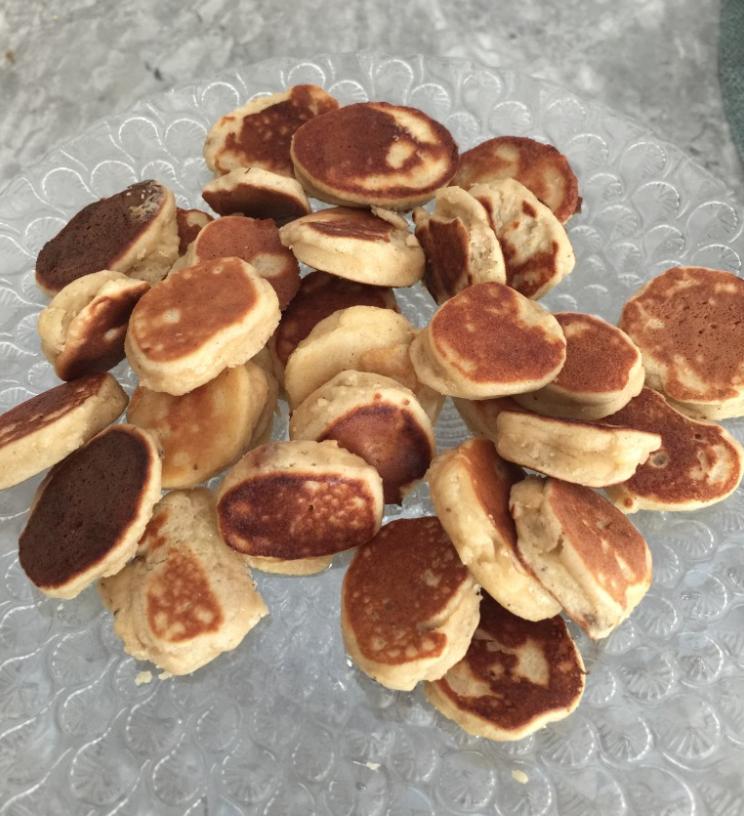 Kid Friendly 3 Ingredient Pancakes