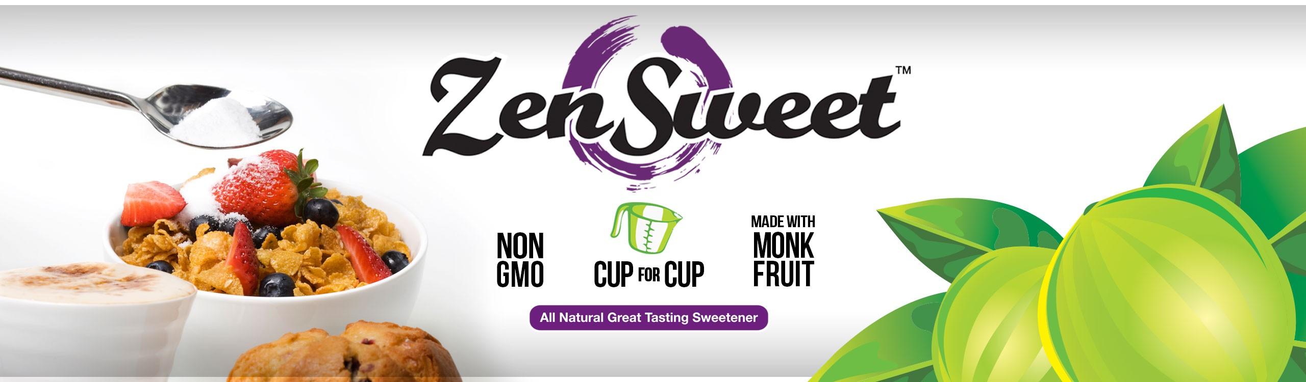 A Healthier Gluten-Free Sweetener – ZenSweet