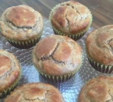Grain-Free Banana Muffins