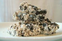 Cookies and Crème Sorghum Squares