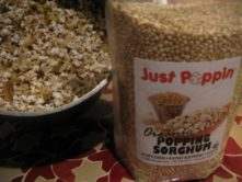 Just Poppin Organic Popping Sorghum Grain- Review