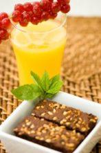 "Gluten-Free Healthy Brownie ""Energy Bites"""