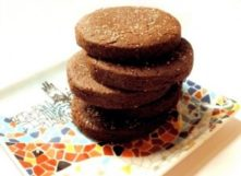 Gluten-Free Chocolate Shortbread Cookies