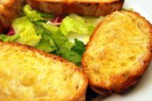Gluten-Free Crostini with Sun-Dried Tomato Pesto and Feta Cheese