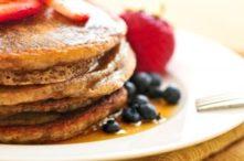 Breakfast: Gluten-Free Buckwheat Pancakes