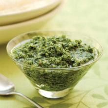 Gluten-Free, Grain-Free Raw Cilantro Pesto