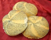 Gluten-Free Poppy Seed Bread Rolls- Using Better Batter