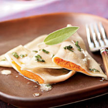 Sweet Potato Spice Ravioli