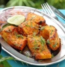 Gluten-Free Grilled Tandoori Fish