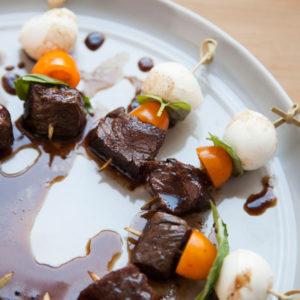 Balsamic Caprese Steak Bites 1