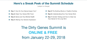 DIRTY GENES SUMMIT FREE and ON LINE!