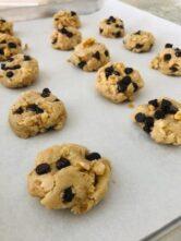 Gluten Free Hazelnut Chocolate Chip Cookies