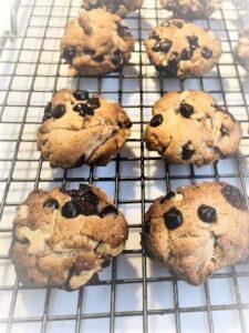 Gluten Free Hazelnut Chocolate Chip Cookies 2